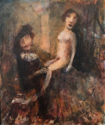 Rembrandt's Muse