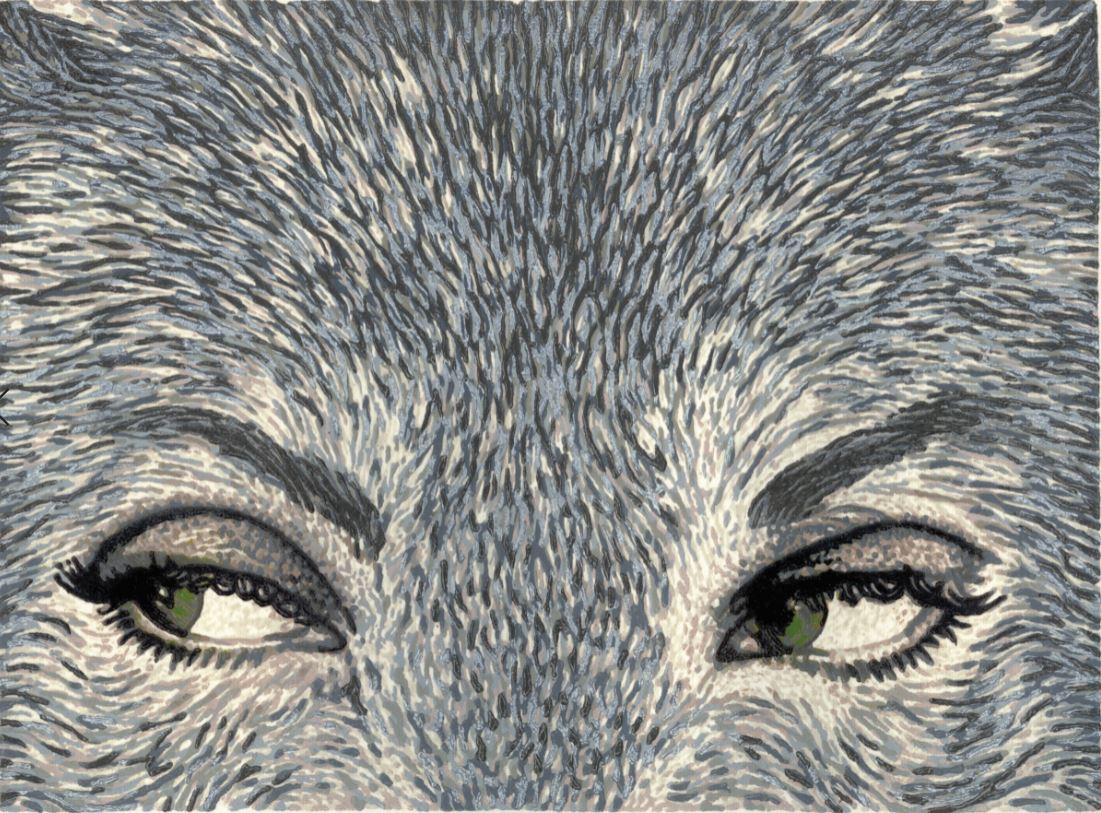 White Fell's eyes turned (green)
