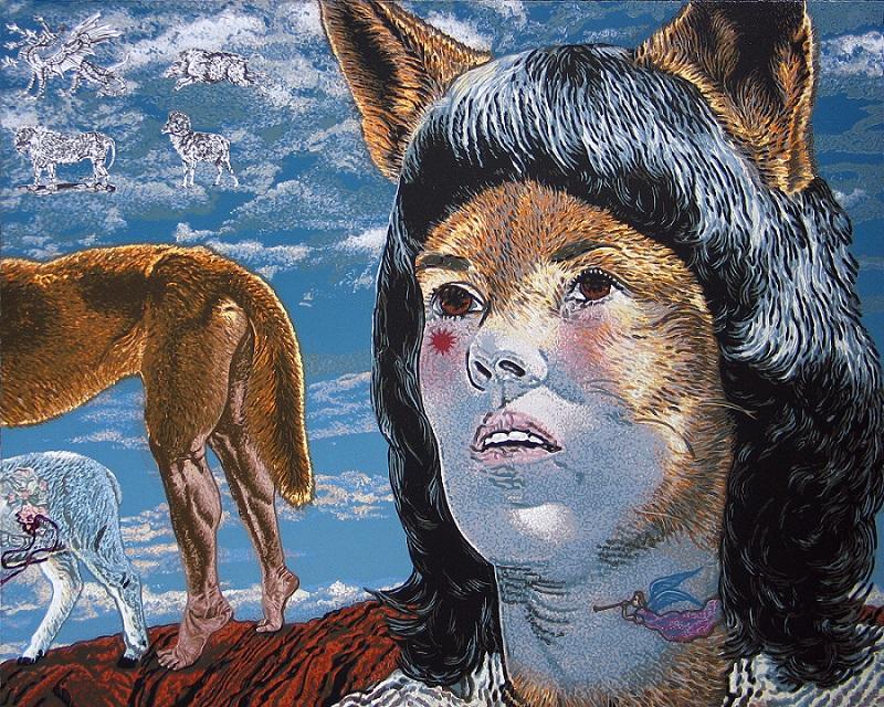 A two-legged dingo stole Lindy's tears