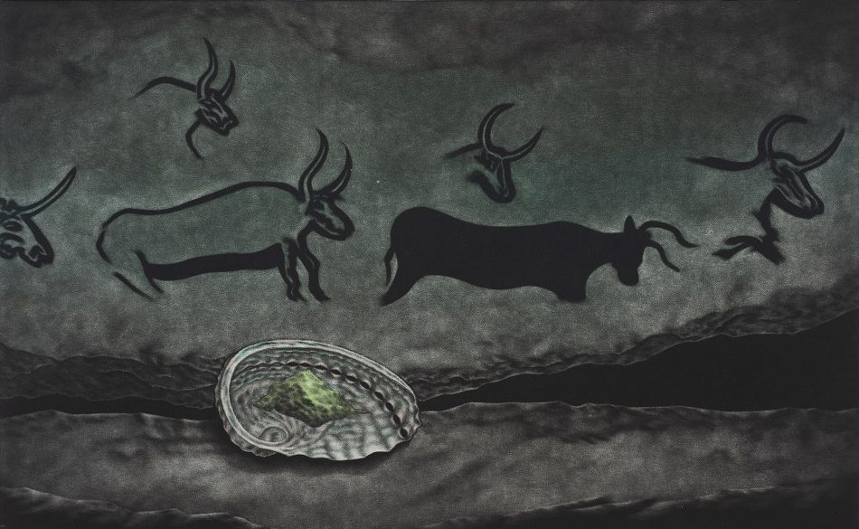 Cave of the green aurochs