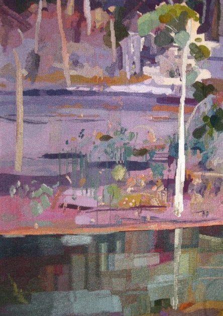 Riverbank Landscape
