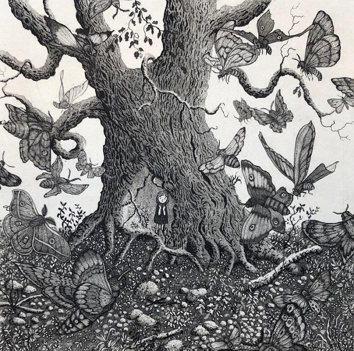 Moth tree