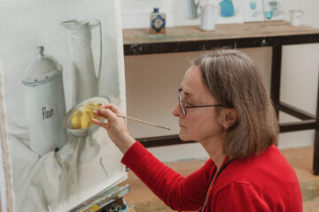 Pam Tippett – Nancy Fairfax Artist in Residence at the Tweed Regional Gallery & Margaret Olley Art Centre