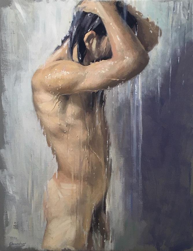 Shower study I