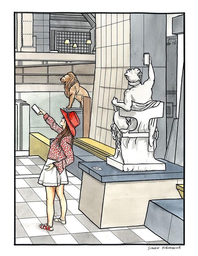 Art imitating life – Musee d'Orsay