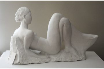 Dale Miles finalist in the Tom Bass Prize for Figurative Sculpture