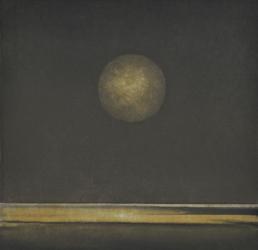 Moon over Lake Charm