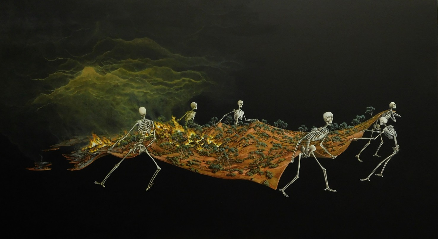 Skeleton Landscapes: Dale Cox on Responding to Climate Change Through Art