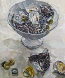 Oyster shell, stubbie caps and lemons II