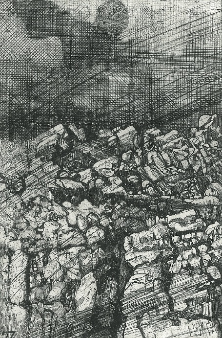 Elsewhere world fragment No. 27 (2nd State) Mt Lyell (Expanded Field)