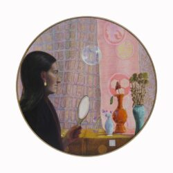 In a Bubble (self-portrait)