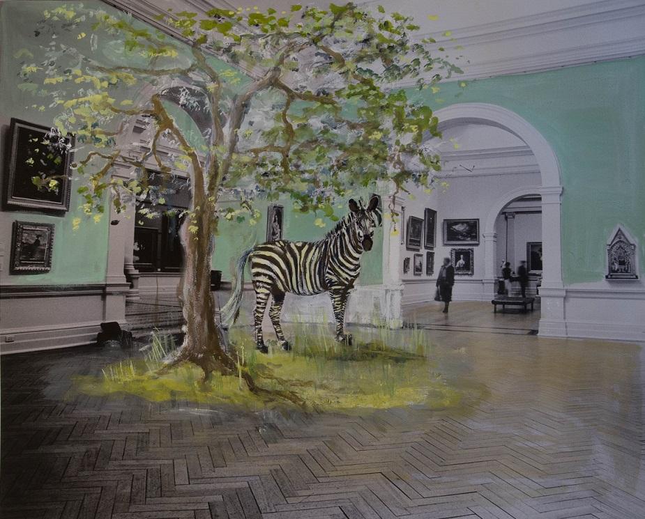 Zebra at the AGNSW