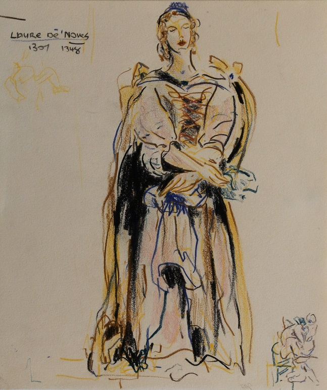 Laure de Noves 1307-48