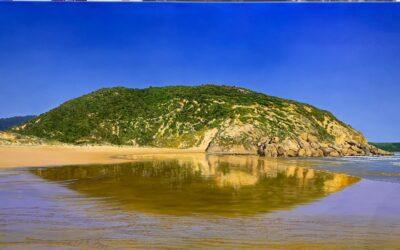 Darby River beach