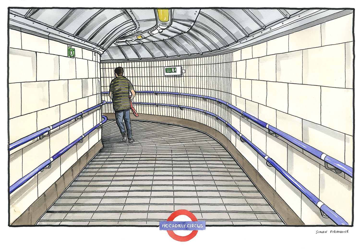 Piccadilly Circus – London Underground