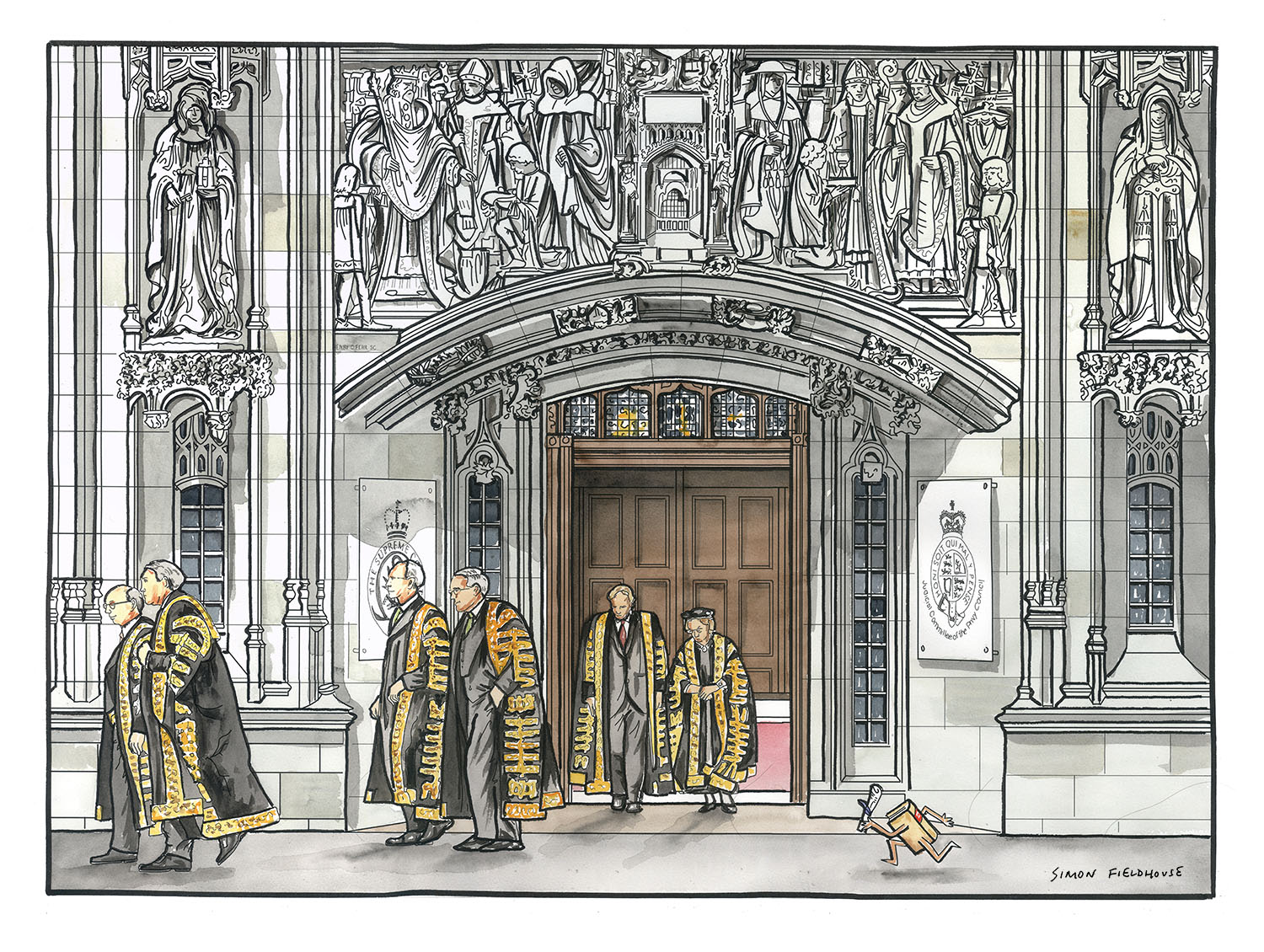 """The Chancellors Breakfast"" – opening of law term,  Supreme Court, London"