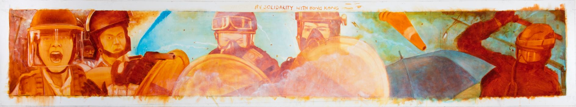 In solidarity with Hong Kong protesters