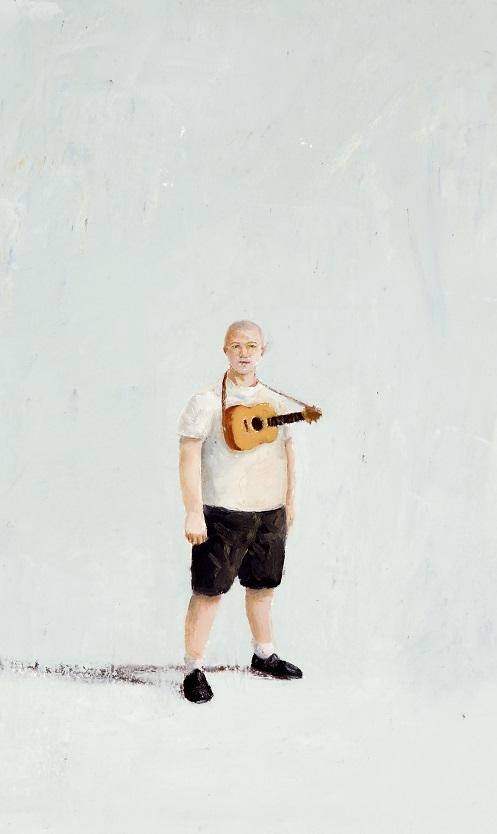 The 'uke' instructor