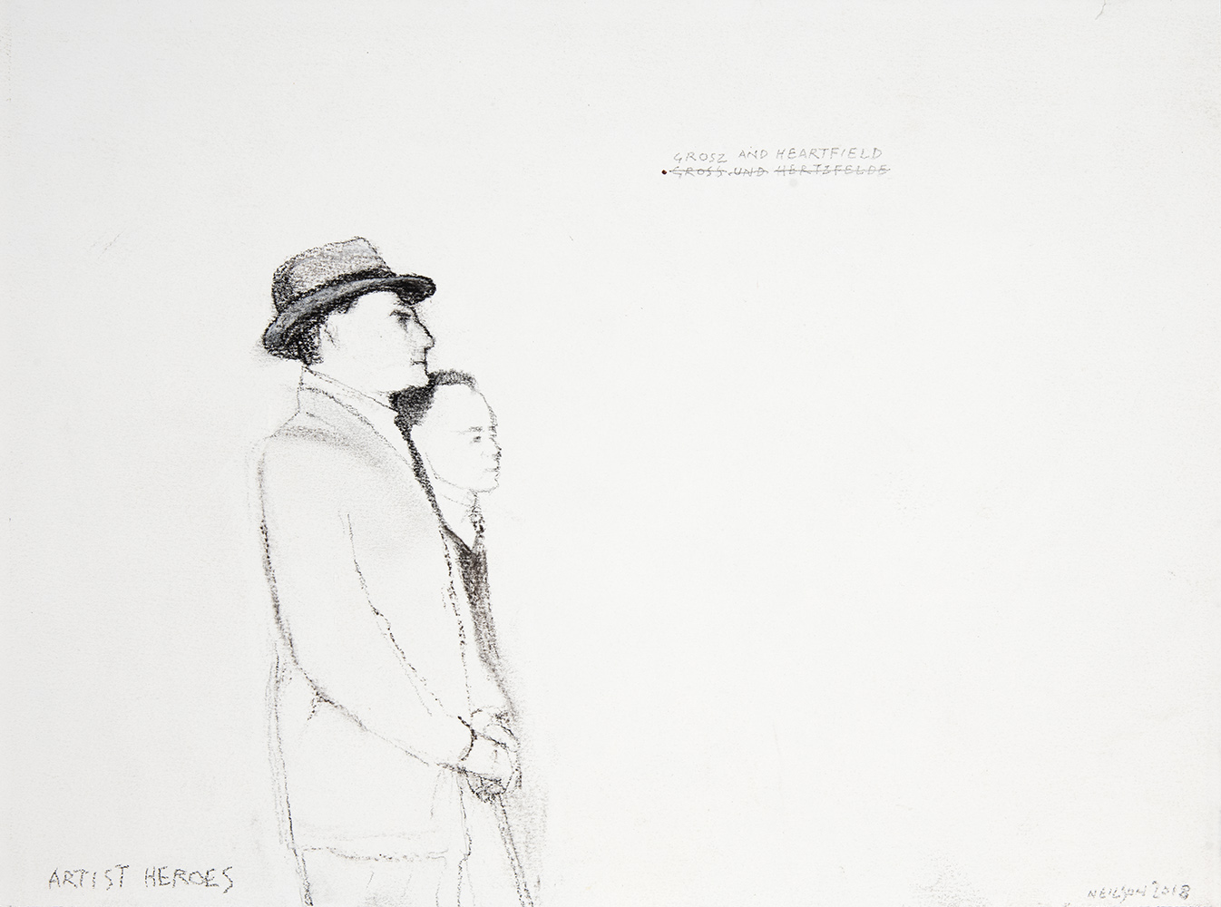 Artist heroes: Grosz and Heartfield