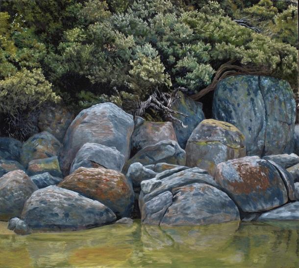 River rocks – study