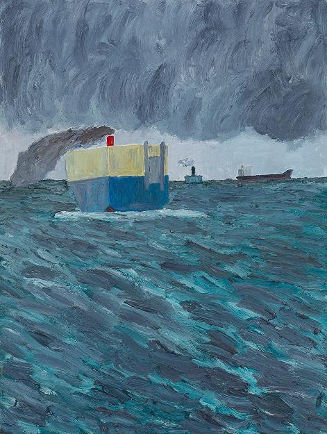 Three ships, Hobsons Bay