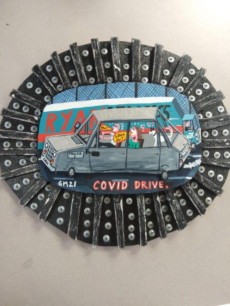 COVID drive