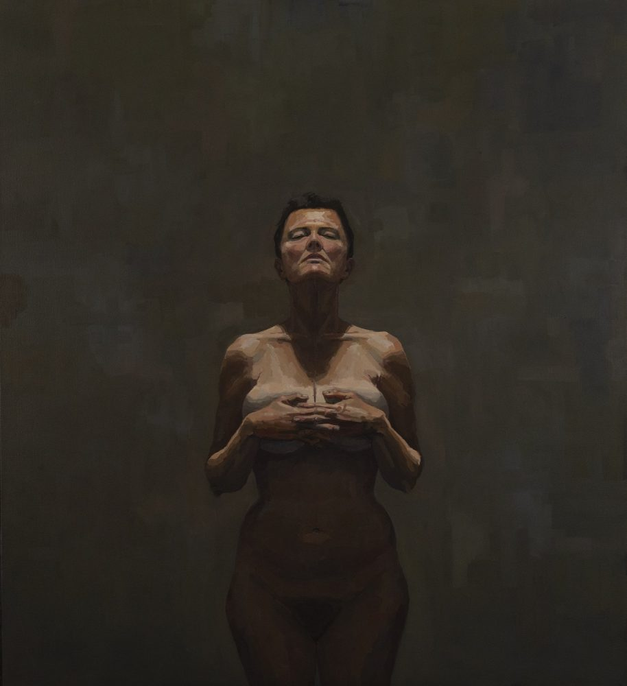 Solitary figure