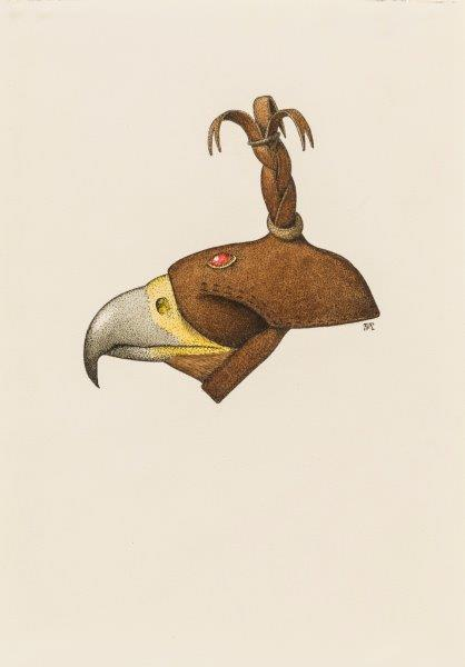 Golden eagle hood
