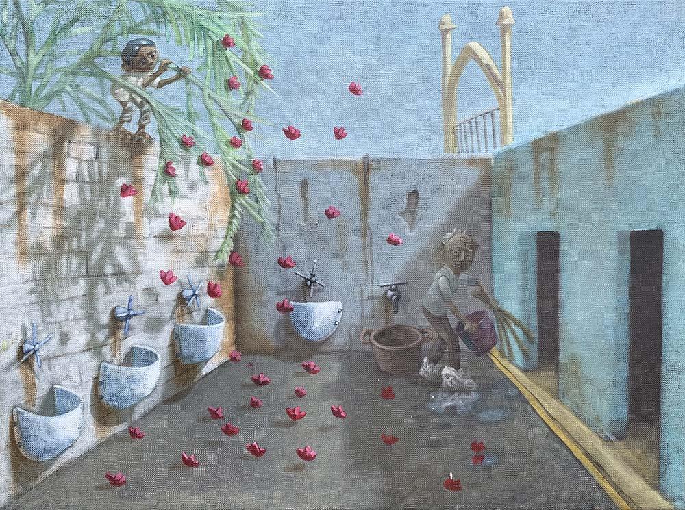 Mysor Palace Toilets