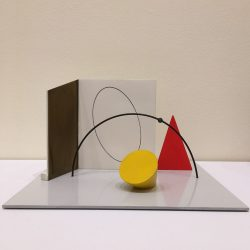 Study for a public sculptural space 'the oval'