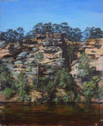 Rock Wall at Burrier, Shoalhaven