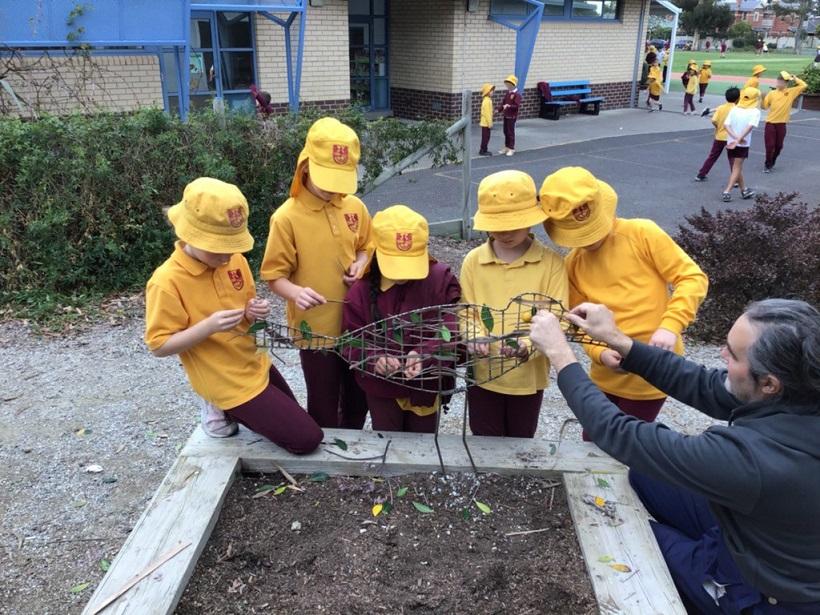 Geoffrey Ricardo – Residency at Seaholme Primary School