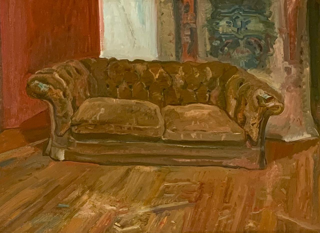 Study for, Velvet couch