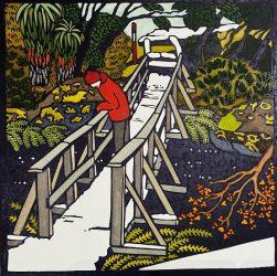 Bridge on enchanted walk