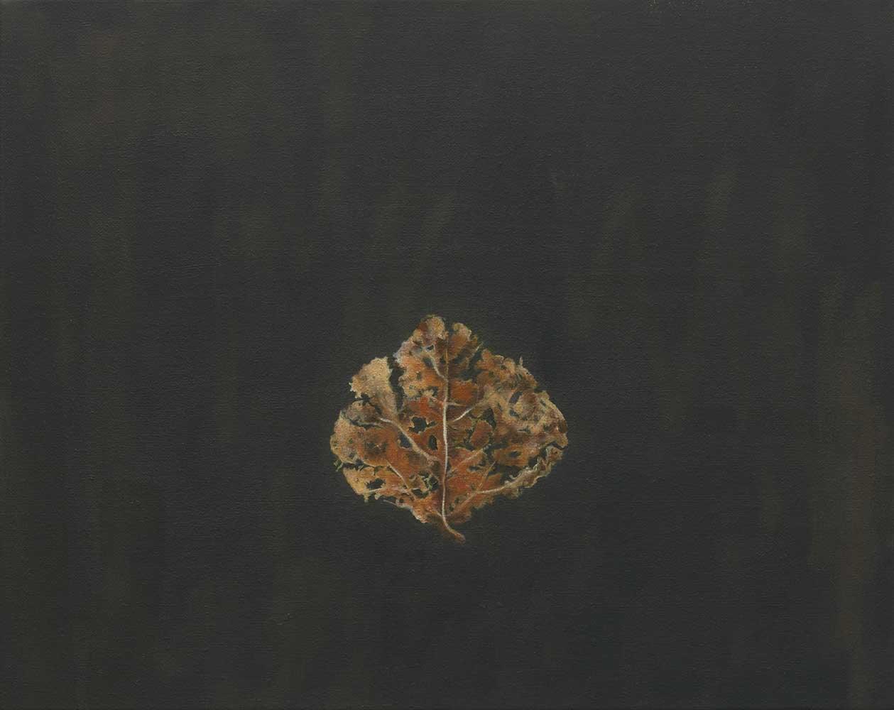 Autumn leaf I (dark)