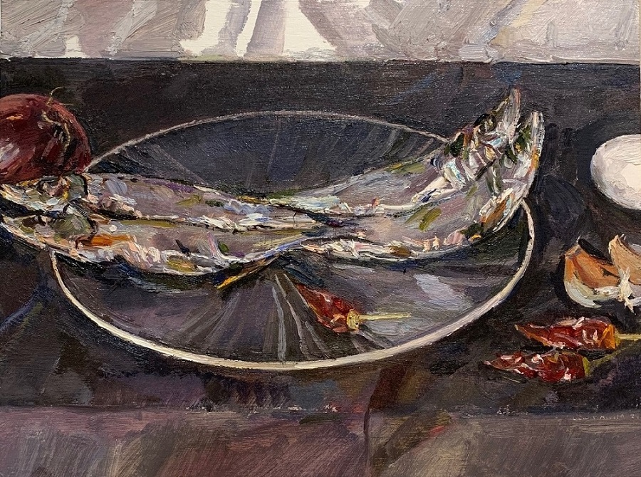 Study for, A still life in the Spanish style II
