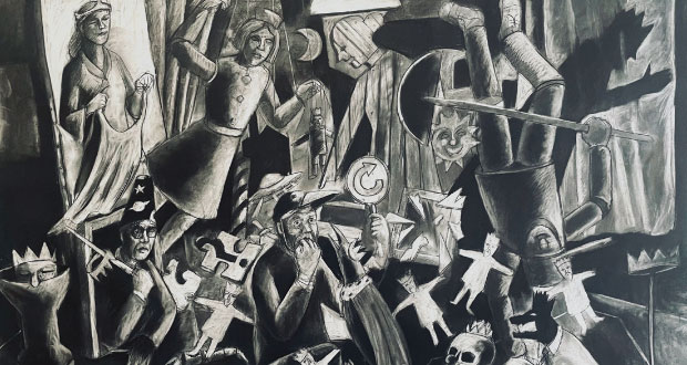 Andrew Antoniou – 'Exit The King' at Swan Hill Regional Gallery