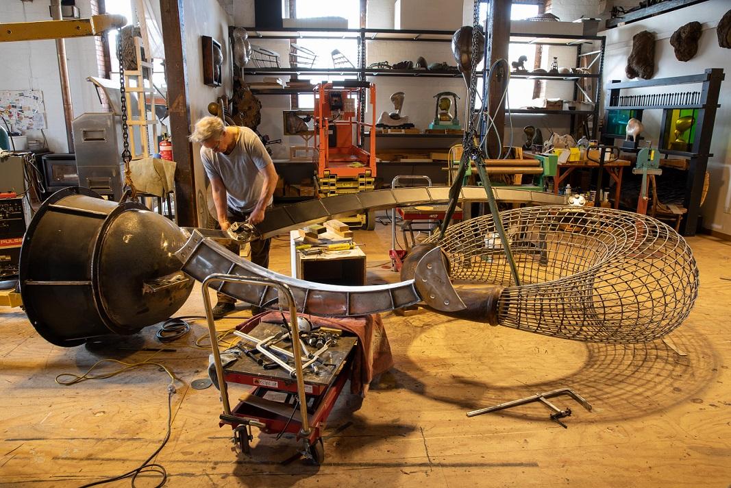 Geoffrey Bartlett – Newhaven Public Art Commission