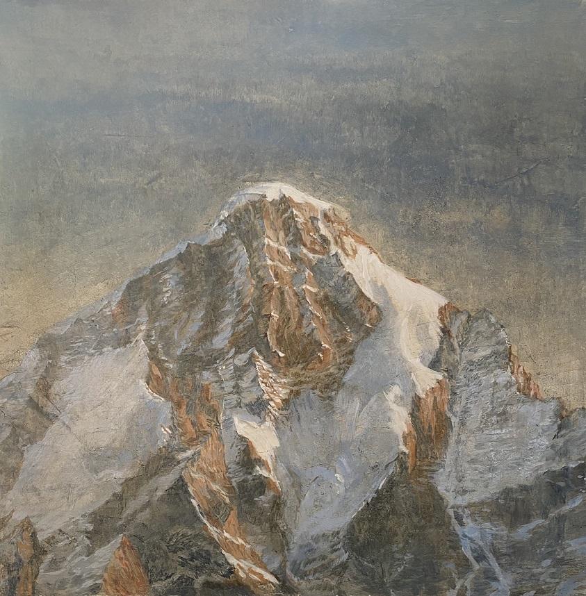 Facing into the wind (Uttarakhand series)