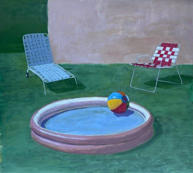 Pool and chairs