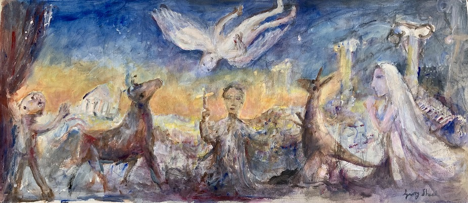 Vision of St Paul