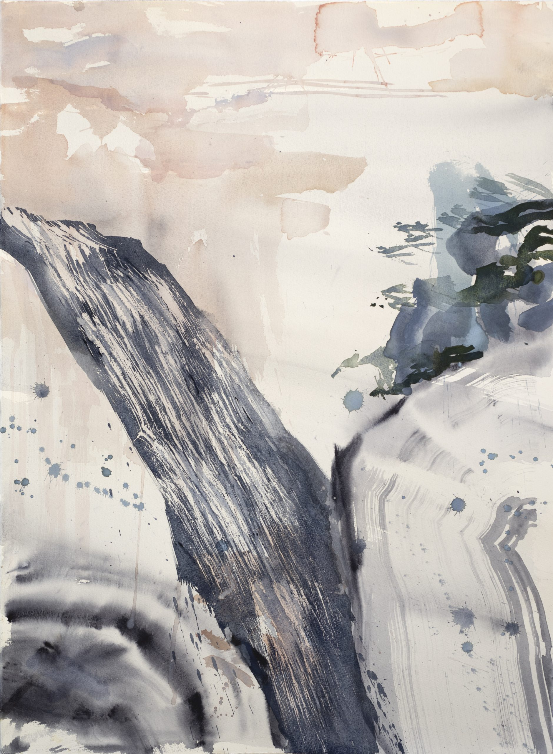 Danielle Creenaune – Finalist in 'FLOW' National Contemporary Watercolour Prize 2021 at Wollongong Art Gallery